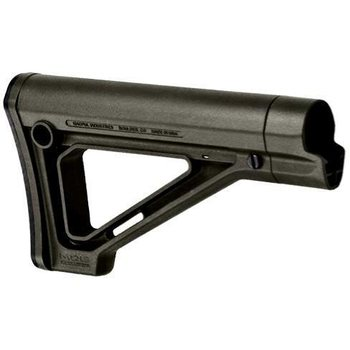 Magpul MOE® Fixed Carbine Stock - Mil-Spec Model, OD Green