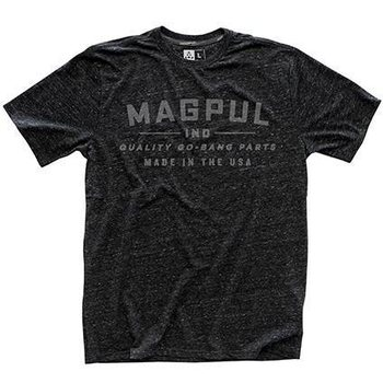 Magpul Megablend Go Bang T-Shirt, Charcoal Heather, S