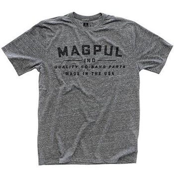 Magpul Megablend Go Bang T-Shirt, Athletic Heather, M