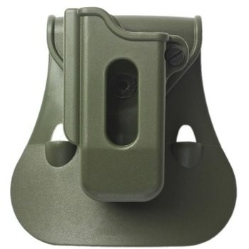 IMI Defense Single Magazine Pouch for Glock, Beretta PX4 Storm, H&K P30 Right Handed, OD Green