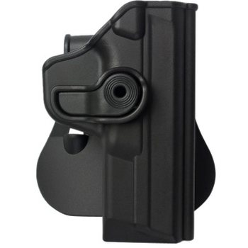 IMI Defense Polymer Retention Paddle Holster Level 2 for Smith & Wesson M&P, Black