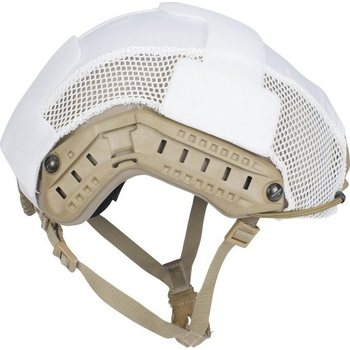 First Spear Helmet Cover - Hybrid - Ops Core, White, M/L
