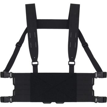 Ferro Concepts CHESTY RIG WIDE HARNESS V1, Black