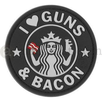 Clawgear Guns and Bacon Rubber Patch