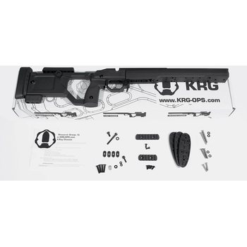 KRG XRAY Chassis - T3 Black