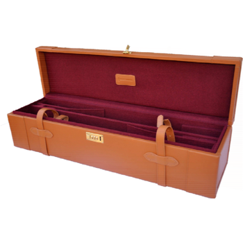 Maremmano Leather Moto Case for Two Shotguns