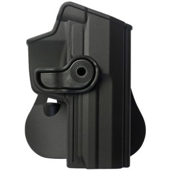 IMI Defense Polymer Retention Paddle Holster Level 2 for Heckler & Koch USP 45 Full Size