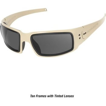 Ops-Core Mk1 Performance Protective Eyewear - Cerakote FDE w/ Tinted Lens Only