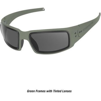 Ops-Core Mk1 Performance Protective Eyewear - Cerakote OD w/ Tinted Lens Only