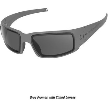 Ops-Core Mk1 Performance Protective Eyewear - Cerakote Gray w/ Tinted Lens Only