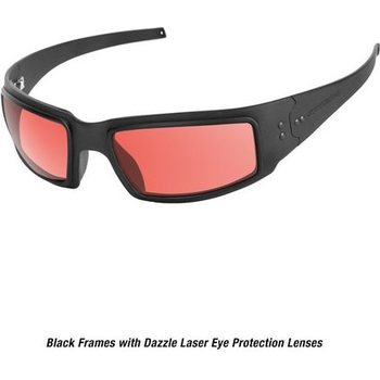 Ops-Core Mk1 Performance Protective Eyewear - Black Dazzle Laser Protection Lenses only