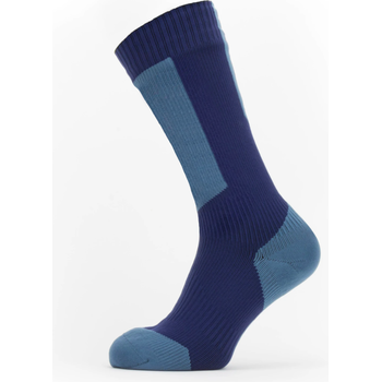 Sealskinz Waterproof Cold Weather Mid Length Sock with Hydrostop