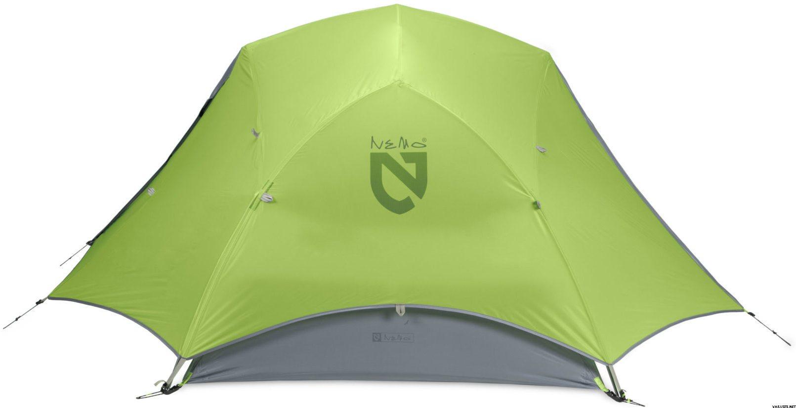 Ultrakevyt teltta 2 hengelle 10D Nylon