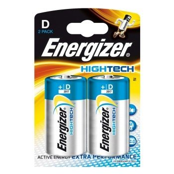 Energizer HighTech D 2 kpl