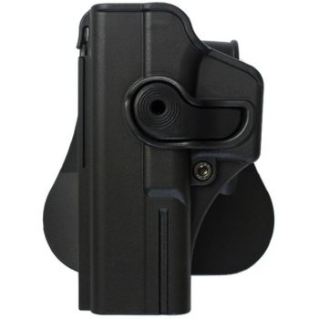 IMI Defense Polymer Retention Paddle Holster for Glock 17/22/28/31/34 – Left Hand