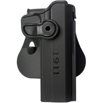 IMI Defense Polymer Retention Paddle Holster Level 2 for 1911 Variants