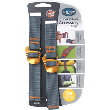 Sea to Summit Tie Down Accessory Straps with Hook 20mm