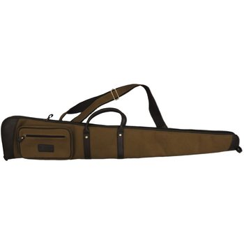 Maremmano Canvas and Leather Shotgun Slip (E301)