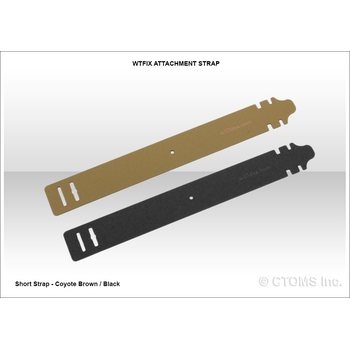 CTOMS Whiskey Two Four (WTFix) Attachment Systems Straps, Short