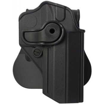 IMI Defense Polymer Retention Paddle Holster Level 2 for Jericho PL, PSL 941 /Baby-Eagle