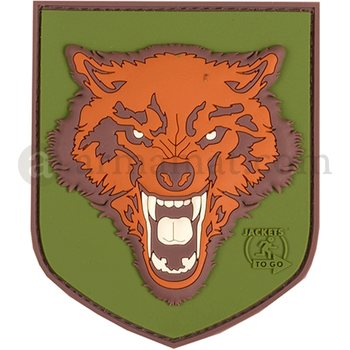 Wolf Rubber Patch