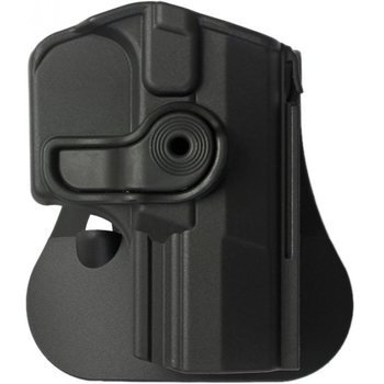 IMI Defense Polymer Retention Paddle Holster Level 2 for Walther PPQ Pistols