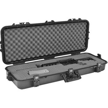 "Plano Tactical 36"" AW Case w/ Foam - Black Latches/Handle, UPC, Blank Insert"