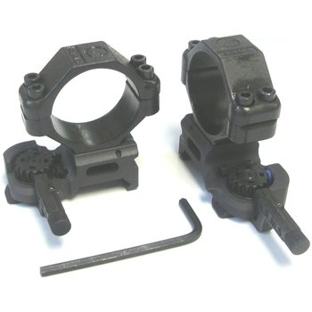 ARMS Throw Lever® Rings (30mm) With A.R.M.S. MK II Lever, Medium