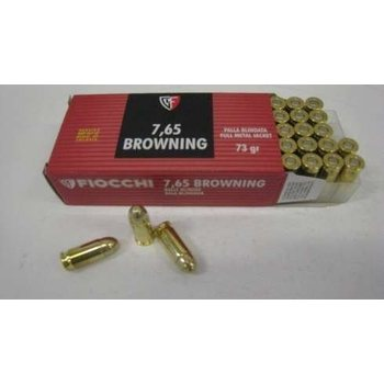Fiocchi 7,65 Browning 50kpl
