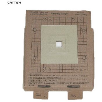 Law Enforcement Targets Cardboard Thermal Zeroing Target (Pack of 12)