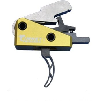 Timney Triggers AR-15 Skeleton Small pin 4.5 lb Trigger - Yellow