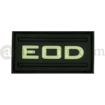 Clawgear EOD Rubber Patch, Glow in the Dark