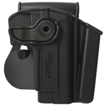 IMI Defense Polymer Retention Paddle Holster Level 2 W/Integrated Magazine Pouch for Sig Sauer Mosquito