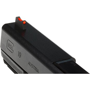 Wilson Combat Vickers Elite Snag Free Front Sight for Glock, Red Fiber Optic, .230""
