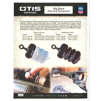 Otis Big Bore Cleaning system