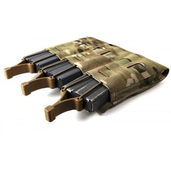 Blue Force Gear Mag NOW! POUCH, M4 TRIPLE
