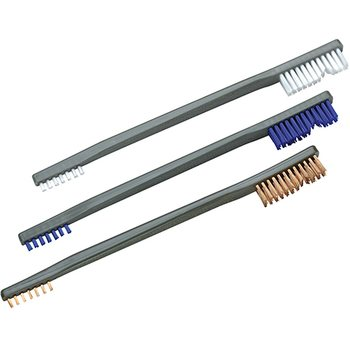 Otis 3 Pack A/P Brushes (Nylon/ Blue Nylon/ Bronze)