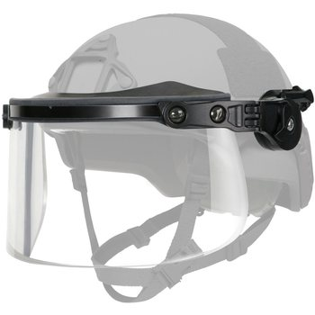 Ops-Core Face-Shield / Visor, Ballistic, Handgun Multi-Hit fits to ARC Accessory Rail