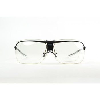 Randolph RE Ranger XLW Insertti, Clear PC, 55mm, Semi Rimless Insert, Matte Chrome