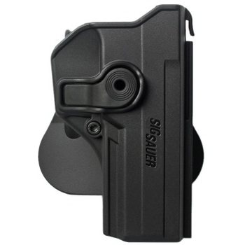 IMI Defense Polymer Retention Paddle Holster for Sig Sauer P250 Full Size, P320