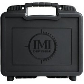 IMI Defense Plastic Large Case w/Plastic Holster LVL 1/2, Plastic Pouch & Safety Flag