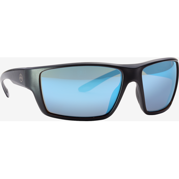 Magpul Terrain Eyewear, Polarized - Black / Rose, Blue Mirror