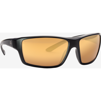 Magpul Summit Eyewear, Polarized - Black / Bronze, Gold Mirror