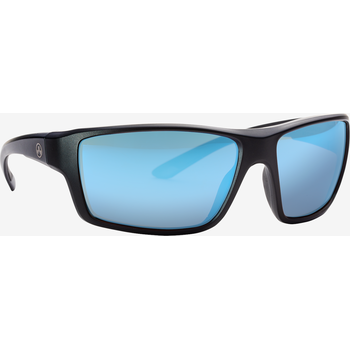 Magpul Summit Eyewear, Polarized - Black / Rose, Blue Mirror