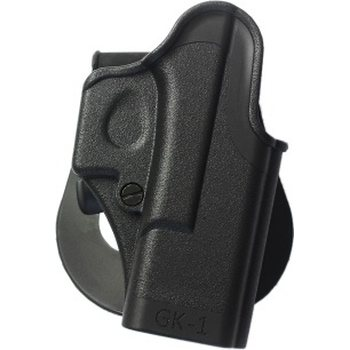 IMI Defense One Piece Polymer Paddle Holster for Glock (right hand) – GK1
