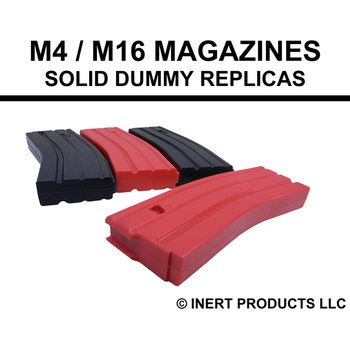 Inert Products M4 / M16 Magazine (Weighted) - Solid Dummy Replica