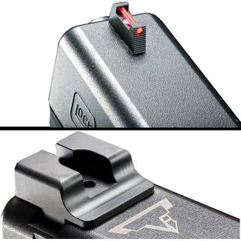 TTI Ultimate Fiber Optic Sights Set for Glock