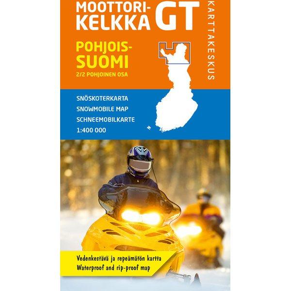 Moottorikelkka Gt Pohjois Suomi Pohjoisosa 1 400 000 2016