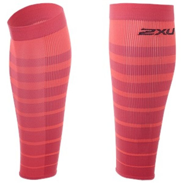 herkät värit niin halpa ostaa nyt 2XU Striped Run Compression Calf Sleeves