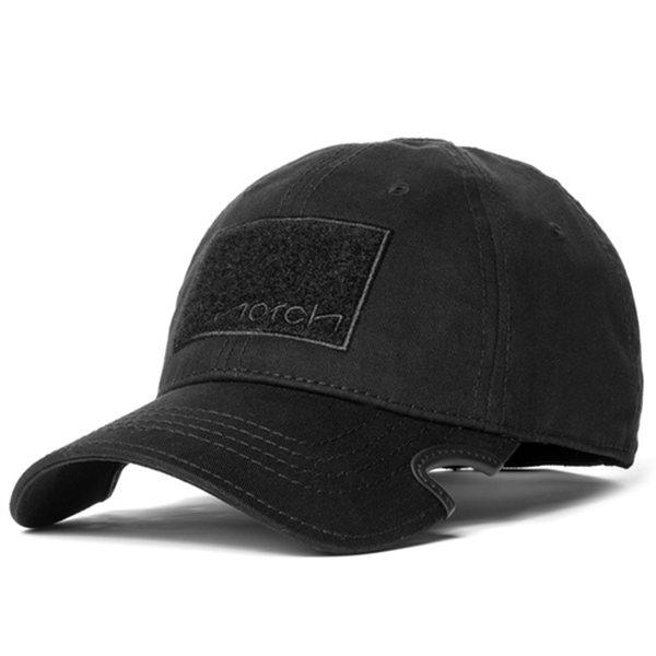 Notch Classic Fitted Hat Black Operator